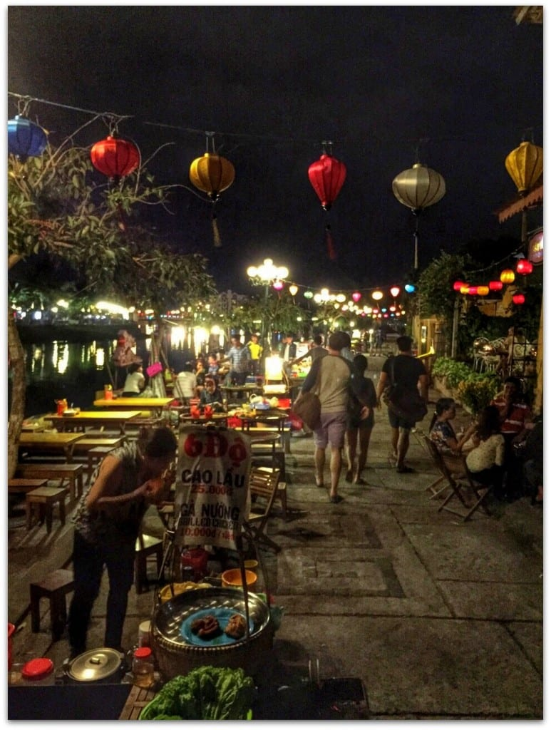 old town hoi an at night