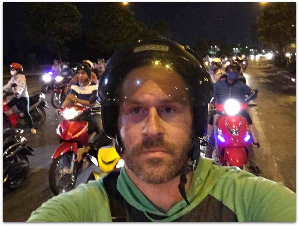 Moto in Saigon
