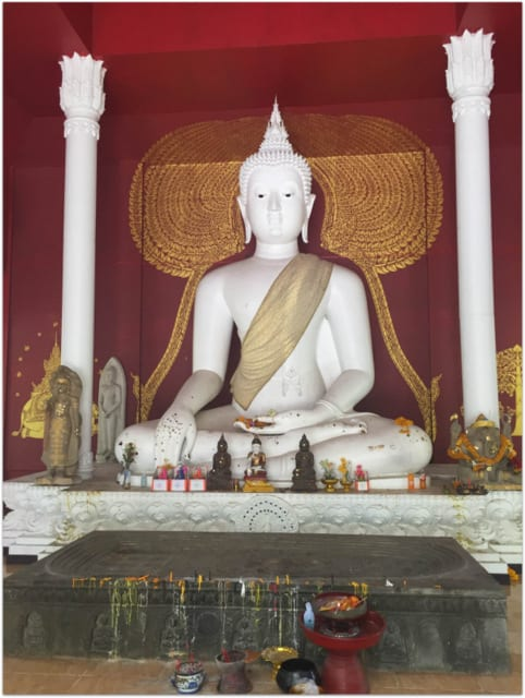 Chian Mai temple buddha