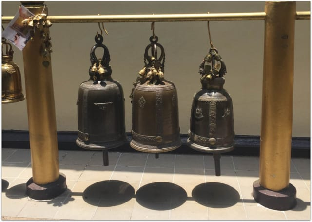 Doi Suthep meditation bells