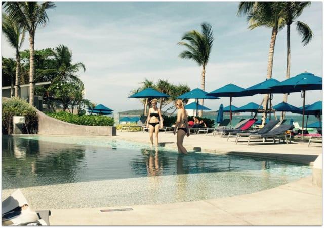 Koh Samui hotel pool