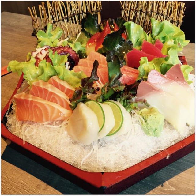 sashimi in Thailand Koh Samui