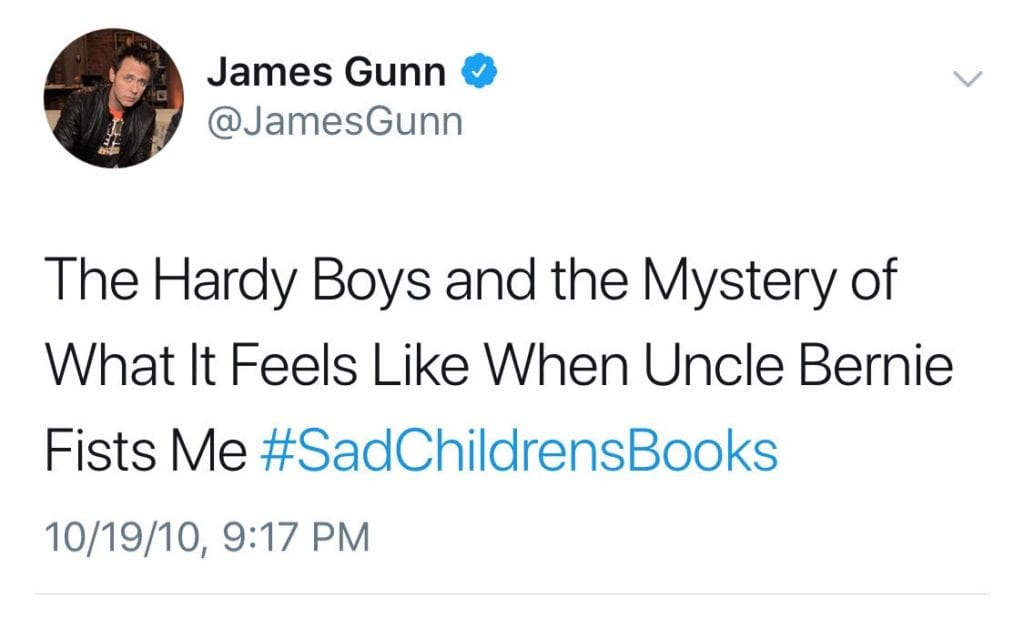 James Gunn Update: James Gunn A Pedophile Or Were These Just Jokes? MCU Stans