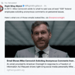 Official Government Records Expose Cernovich Doing Journalism