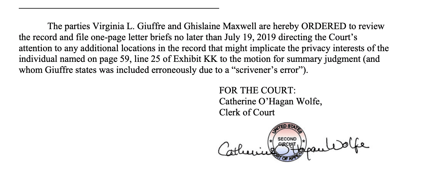 Second Circuit Rules That Failing To >> Over 2 000 Files In Jeffrey Epstein Case To Be Released Within A Few